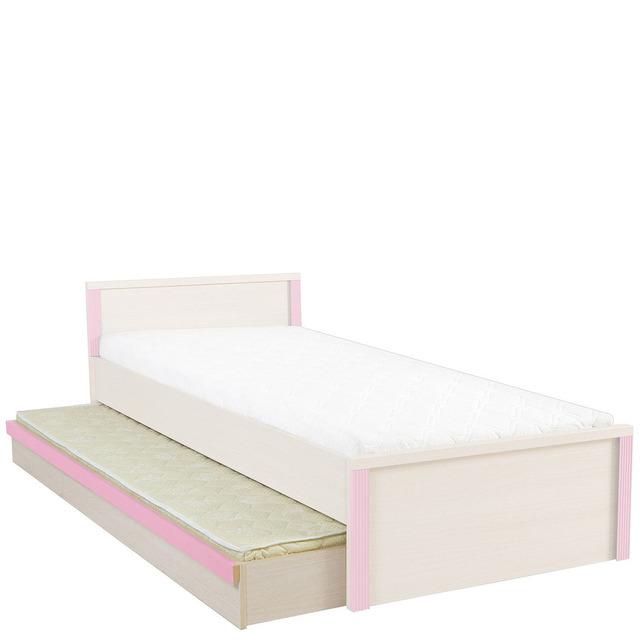 Ліжко з матрацом BRW - Caps - LOZ/85D