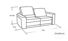 М'який диван VERO - Magnolia - Sofa 3
