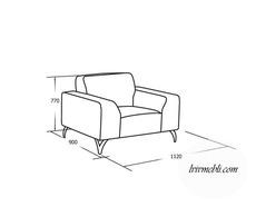 Шкіряне крісло VERO - Santini - Fotel