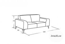 Шкіряний диван VERO - Santini - Sofa 2