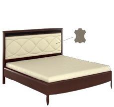 Ліжко Bogatti - Davos - L2 LOZKO 140 S WEZGLOWIE ZE SKORA