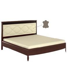 Ліжко Bogatti - Davos - L3 LOZKO 160 S WEZGLOWIE ZE SKORA