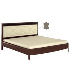 Ліжко Bogatti - Davos - L5 LOZKO 200 S WEZGLOWIE ZE SKORA