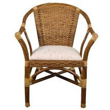 Крісло з підлокітниками Calamus Rotan - Twist - JCT-08