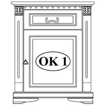 Комод Taranko - Orfeusz - Komoda OK-1