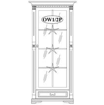 Вітрина ліва Taranko - Orfeusz - OW1/2P (prawa)