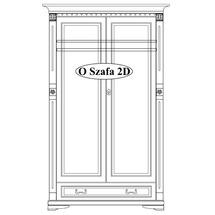 Шафа 2-х дверна Taranko - Orfeusz - O-szafa 2-D (2-drzwiowa)