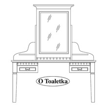 Туалетний столик Taranko - Orfeusz - O-LT Toaletka