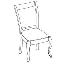 Крісло Taranko - Louis - Krzeslo L-08