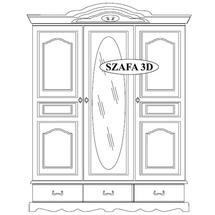 Шафа 3-х дверна Taranko - Ol-Tar - Szafa 3-drzwiowa