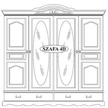 Шафа 4-х дверна Taranko - Ol-Tar - Szafa 4-drzwiowa