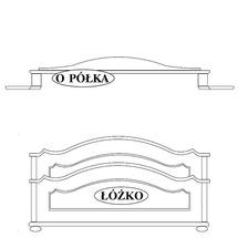 Ліжко Taranko - Ol-Tar - Loze 1600x2000 bez materaca