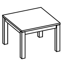 Столик журнальний Taranko - Iva - I-S2 stolik