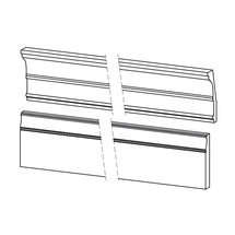 Накладки Taranko - Barcelona - BA-listwy wienczace do paneli - kpl / 2,4mb