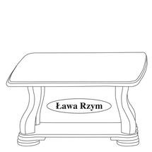 Столик журнальний Taranko - Lawa Rzym III