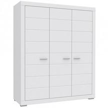 Шкаф 3-х дверный FORTE - SNOW - Szafa ubraniowa SNWS83
