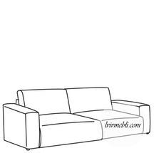 М'який елемент кутка VERO - Avena - Sofa 3