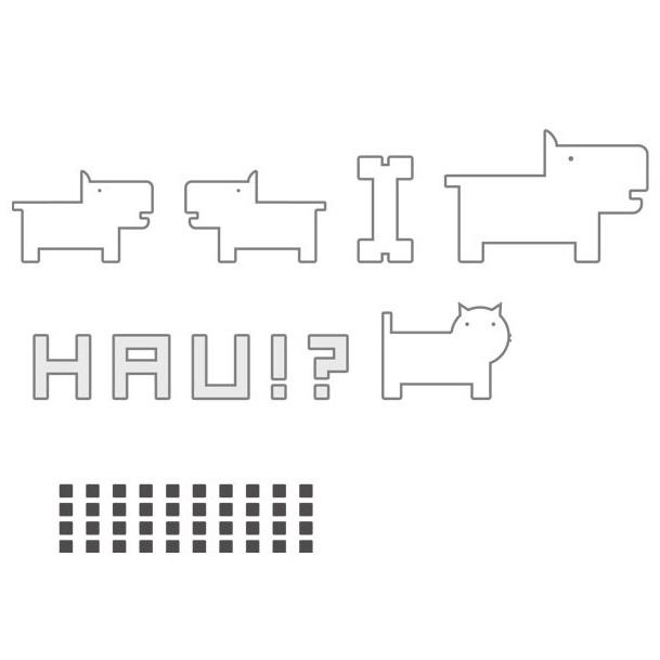 Наклейки BRW - Graphic - HAU