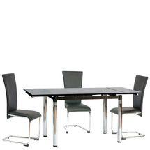 Стол стеклянный раскладной SIGNAL - GD-018