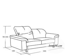 Шкіряний диван VERO - Ibisco - Sofa 2