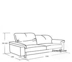 Шкіряний диван VERO - Ibisco - Sofa 3