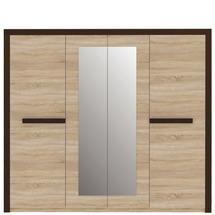 Шкаф 4-х дверный FORTE - LATIS - LTSS84S