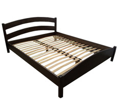Ліжко дерев'яне дубове АРТмеблі - Вероніка - 90 х 200 (190)
