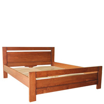 Ліжко дерев'яне дубове АРТмеблі - Глорія - 80 х 200 (190)