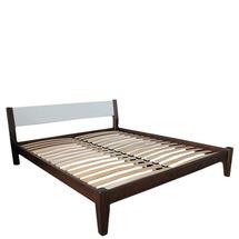 Ліжко дерев'яне дубове АРТмеблі - Фаворит - 180 х 200 (190)