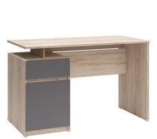 Компьютерный стол BRW - B04-BIU1D1S/120 (dab san remo jasny)