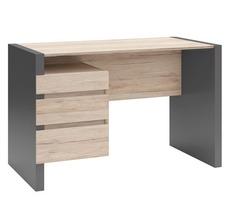 Комп'ютерний стіл BRW - B05-BIU3S/120 (szary wolfram/dab san remo jasny)