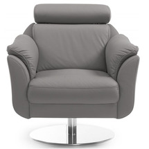 Шкіряне крісло Helvetia Furniture - Amethyst - FOTEL 1