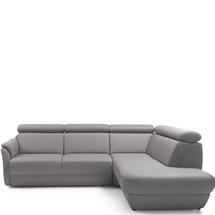 Шкіряний куток Helvetia Furniture -  Amethyst - 2,5F-E-1HT/BK