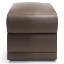 Кожаный табурет Helvetia Furniture - Butterfly - TABORET TL / BK L i P