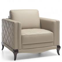 Шкіряне крісло Helvetia Furniture - Laviano - FOTEL 1