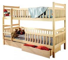 Двухярусная детская кровать Дримка - Том и Джерри 80х190