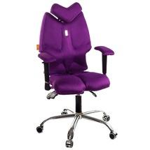 Кресло офисное Kulik System - FLY (антара) - фиолетовый