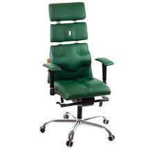 Кресло офисное Kulik System - PYRAMID (экокожа) - зеленый