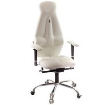 Кресло офисное Kulik System - GALAXY (экокожа) - белый