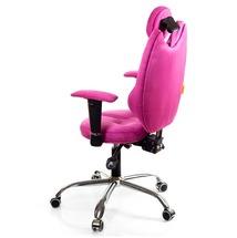 Кресло офисное Kulik System - TRIO (антара) - розовый
