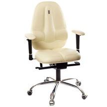 Кресло офисное Kulik System - CLASSIC MAXI (экокожа) - бежевый