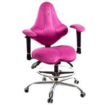 Крісло офісне Kulik System - KIDS (антара) - рожевий