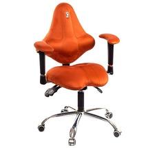 Крісло офісне Kulik System - KIDS (антара) - помаранчевий