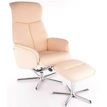 Мягкое кресло кожзам SIGNAL - Livio