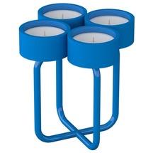 Подсвечник металлический RUDA - Looka4 (голубой)
