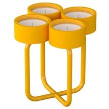 Підсвічник металевий RUDA - Looka4 (жовтий)