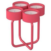 Подсвечник металлический RUDA - Looka4 (розовый)