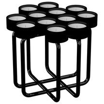 Подсвечник металлический RUDA - Looka12 (черный)