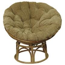 Плетене м'яке крісло з ротангу Папасан