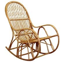 Крісло качалка плетене з лози КК-4
